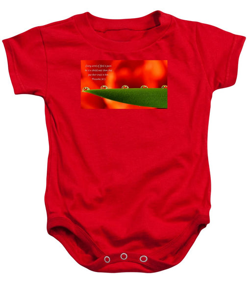 Every Word of God Pure Org - Baby Onesie - Love the Lord Inc