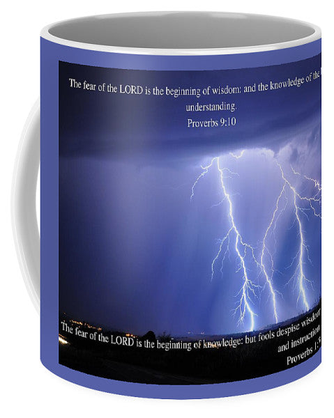 Fear Of The Lord - Thunder - Mug - Love the Lord Inc