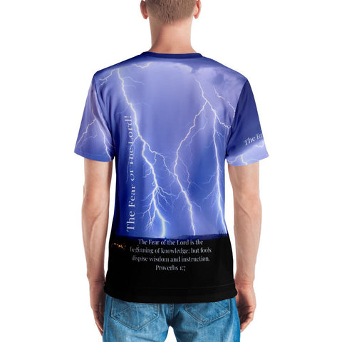 Fear Of The Lord - Thunder (Men's T-shirt)