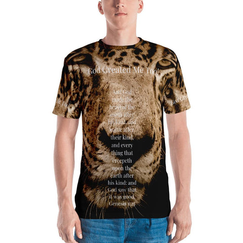 God Created Me Too! Jaguar (Men's T-shirt)