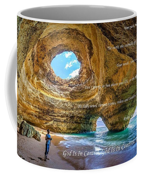 God Is In Control - Mug - Love the Lord Inc