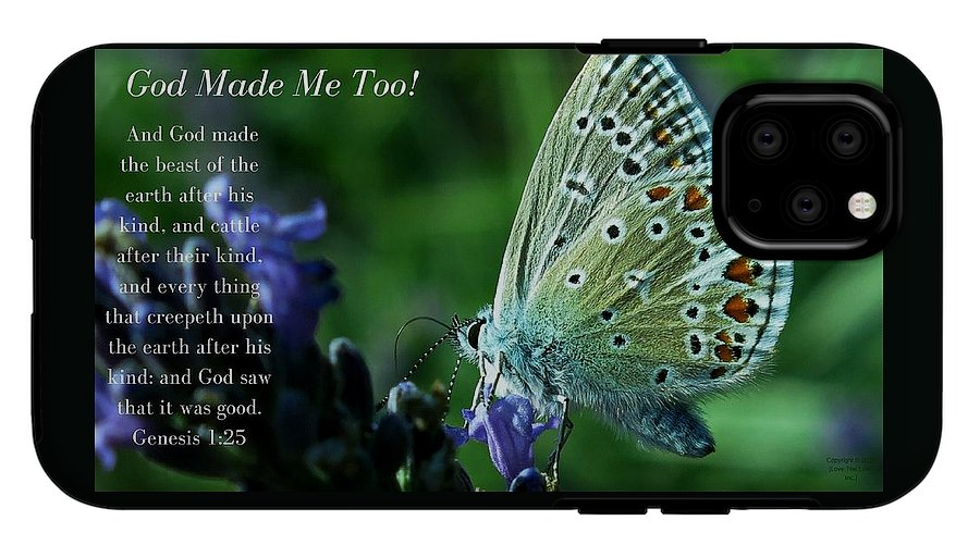 God Made Me Too - Phone Case - Love the Lord Inc