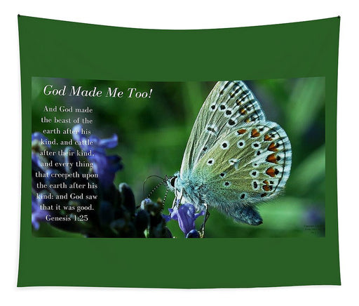 God Made Me Too - Tapestry - Love the Lord Inc