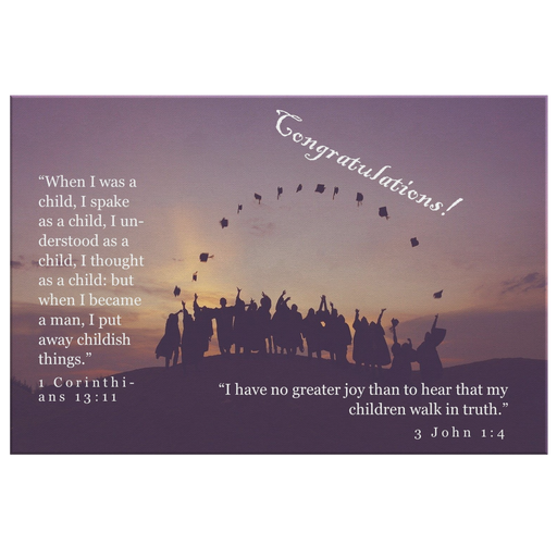 Graduation - The Transition (Canvas) - Love the Lord Inc