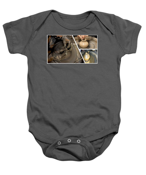 He Is The Potter-We Are The Clay - Baby Onesie - Love the Lord Inc