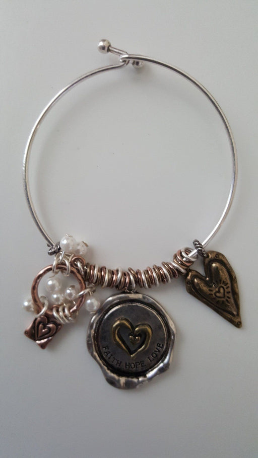 Christian Bracelet - Faith, Hope & Love - Love the Lord Inc