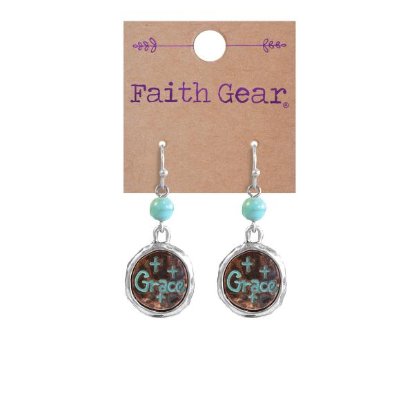 Christian Earrings - Grace Women's Earrings - Love the Lord Inc