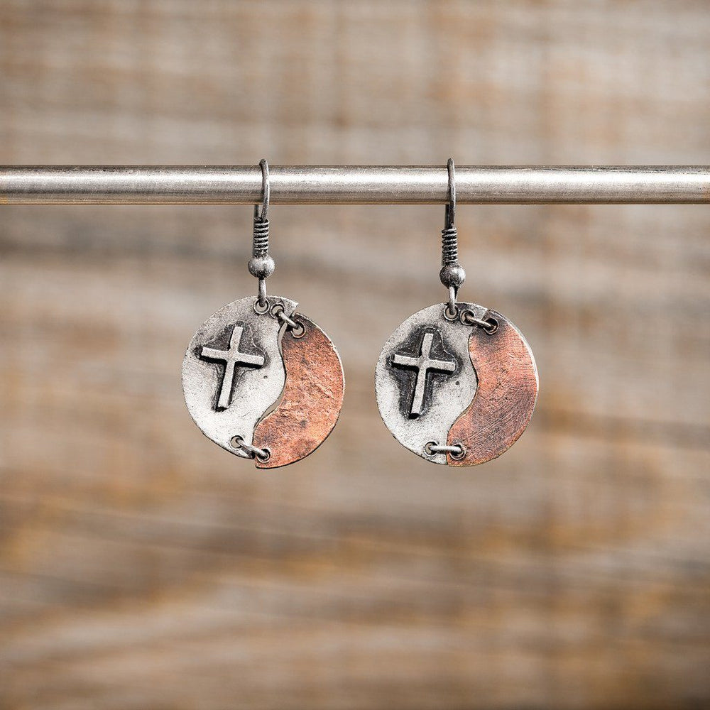 Christian Earrings - Walk By Faith - Love the Lord Inc