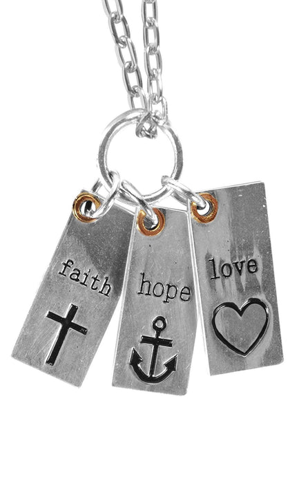 Christian Necklace - Love Notes (Women's) - Love the Lord Inc