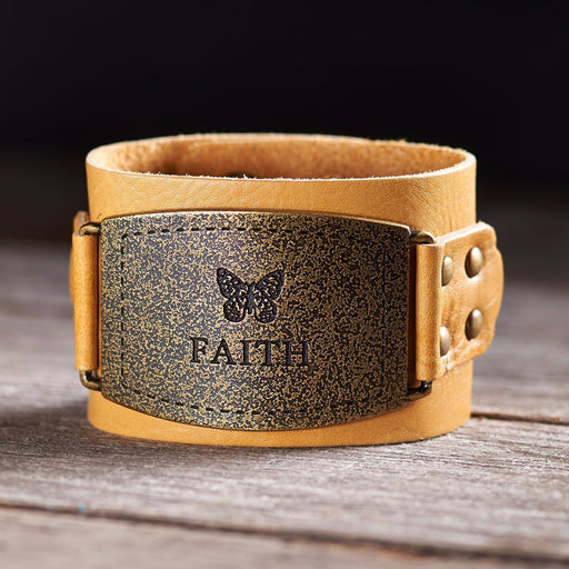 Christian Wristband - Faith Buckle (Ladies) - Love the Lord Inc