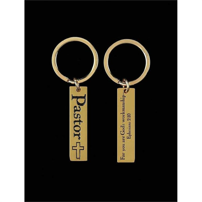 Keychain - Pastor Gift (Eph 2:10) - Love the Lord Inc