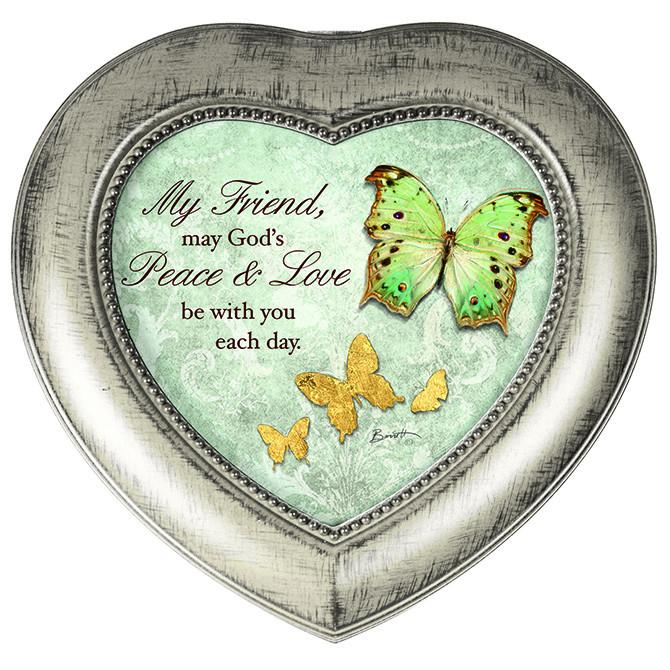 Music Box -  Friend, May God's Love Be With You - Love the Lord Inc