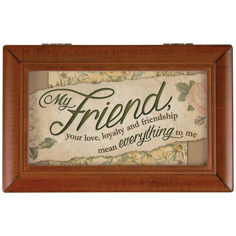 Jewelry - Music Box -  Friend You Mean Everything To Me