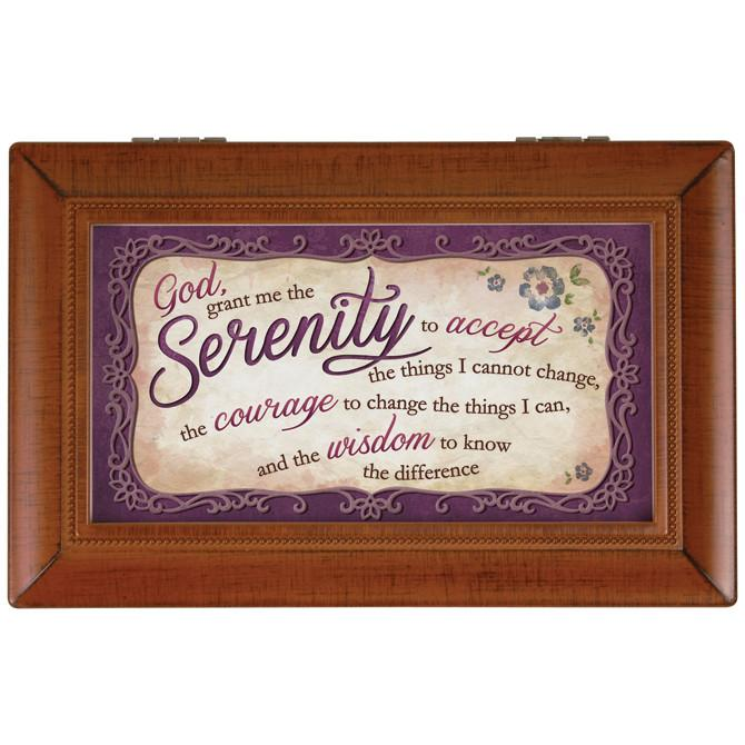 Music Box - The Serenity Prayer - Love the Lord Inc