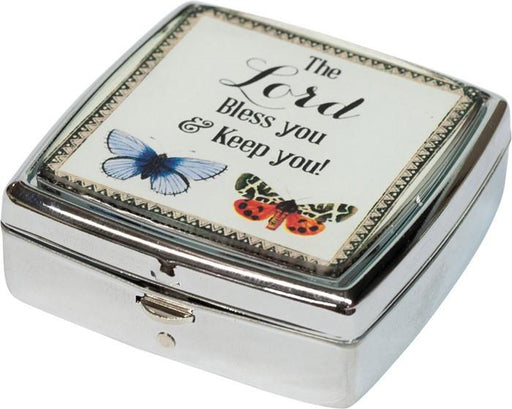 Pill box/Mint box - The Lord Bless You (Christian) - Love the Lord Inc