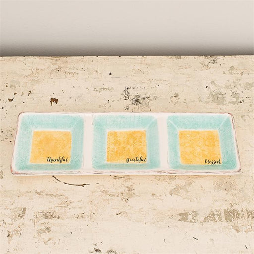 Kitchen Gifts - Trio Serving Tray (Christian Gift) - Love the Lord Inc