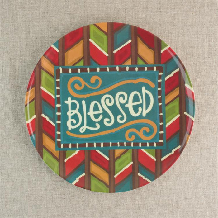 Four Plates - Blessed - Love the Lord Inc