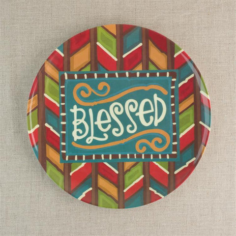 Kitchen - Plate - Blessed (Christian Gift)