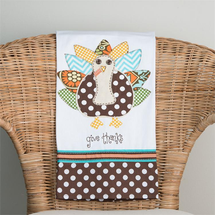 Tea Towel - Give Thanks (Christian gift) - Love the Lord Inc