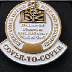 Lapel Pin - Cover-To-Cover Lapel Pin