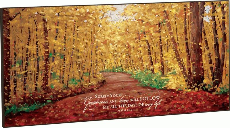 Large Wall Art - Christian Wall Art - Surely Your Goodness And Love