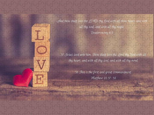 Love The Lord Your God - Puzzle - Love the Lord Inc