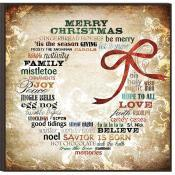Christmas Gift - Christmas Wreath of Words - Love the Lord Inc