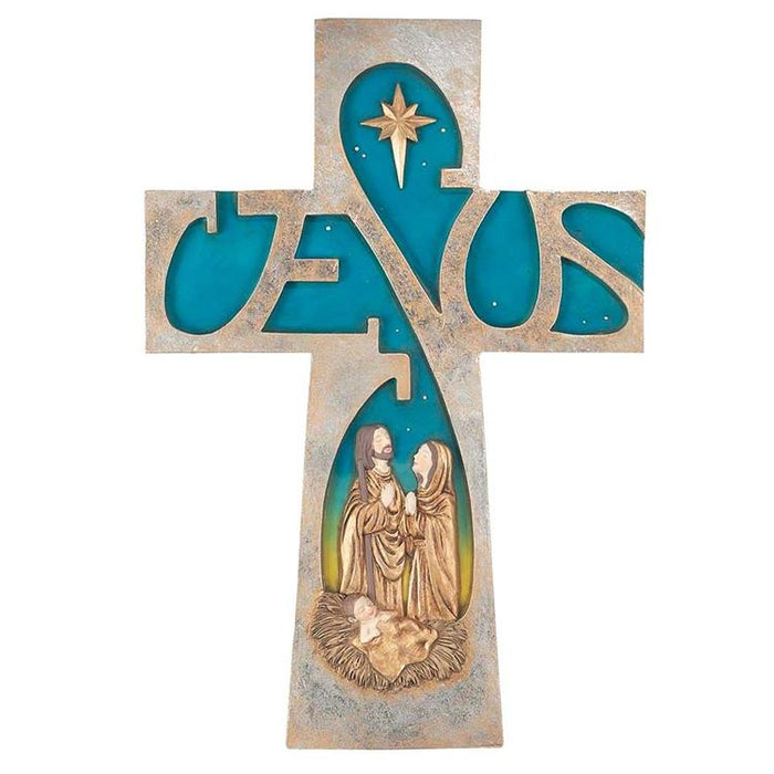 Cross - Jesus and the Holy Family - Love the Lord Inc