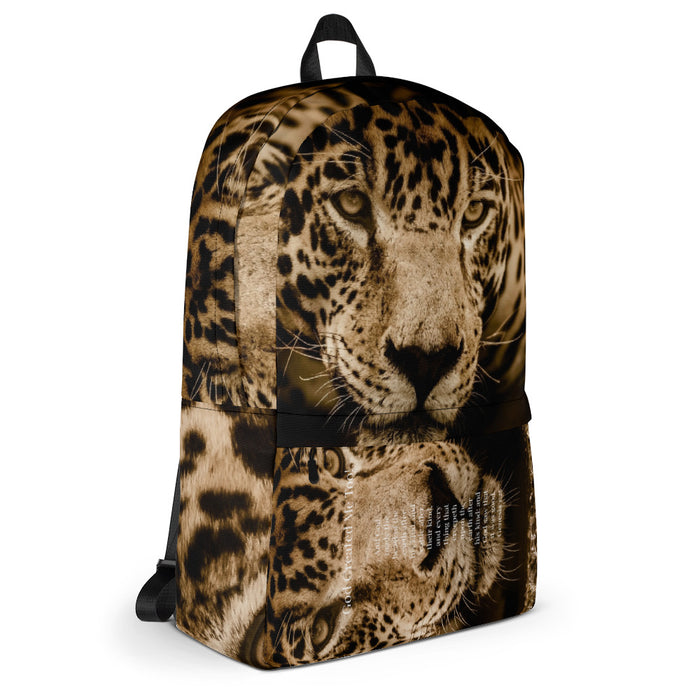 Backpack - God Created the Jaguar - Love the Lord Inc