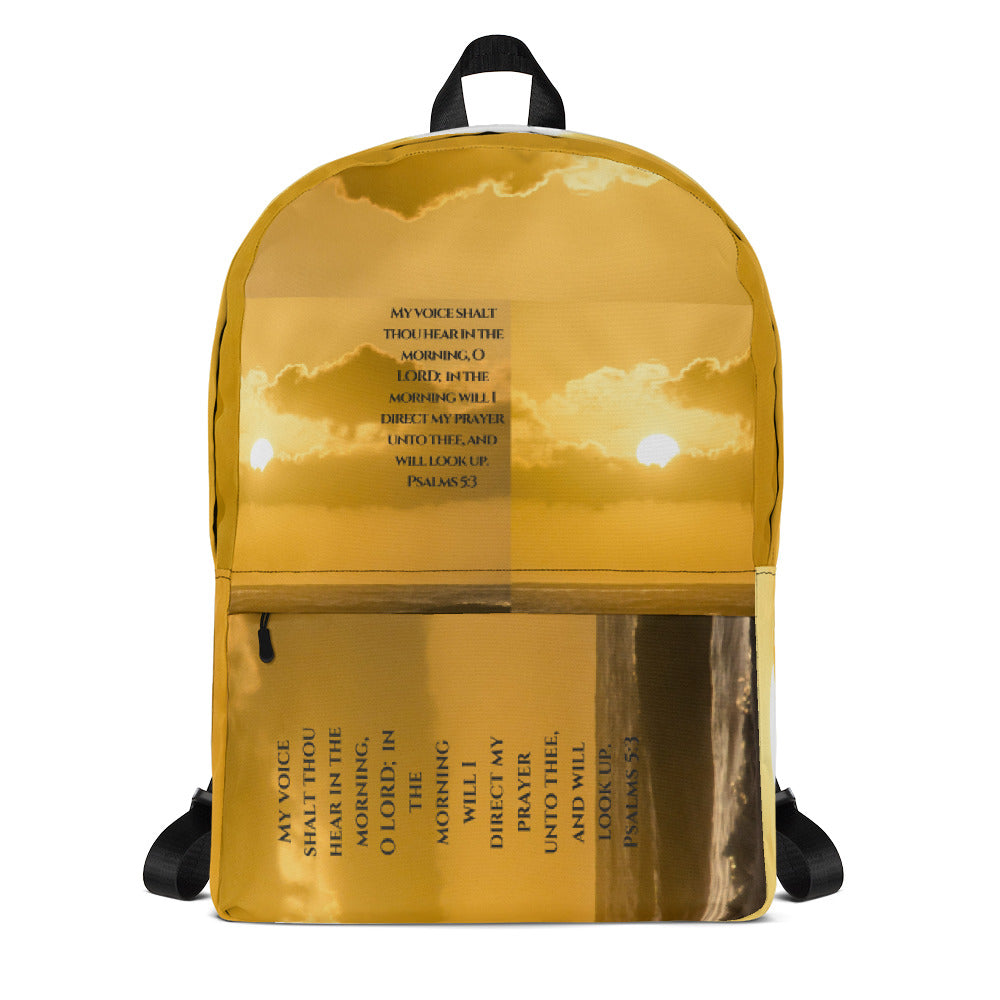 Backpack - In The Morning My Prayer - Love the Lord Inc