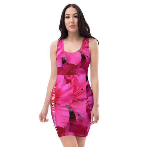 Sublimation Cut & Sew Dress - Strength and Beauty - Love the Lord Inc