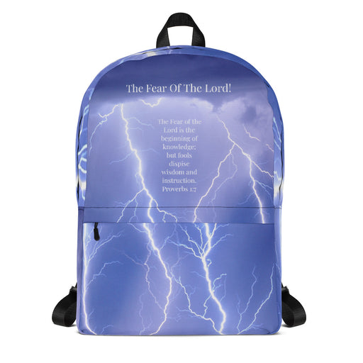 Backpack - Fear of the Lord - Love the Lord Inc