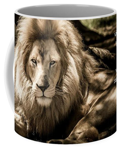 Be Sober Your Adversary - Mug - Love the Lord Inc
