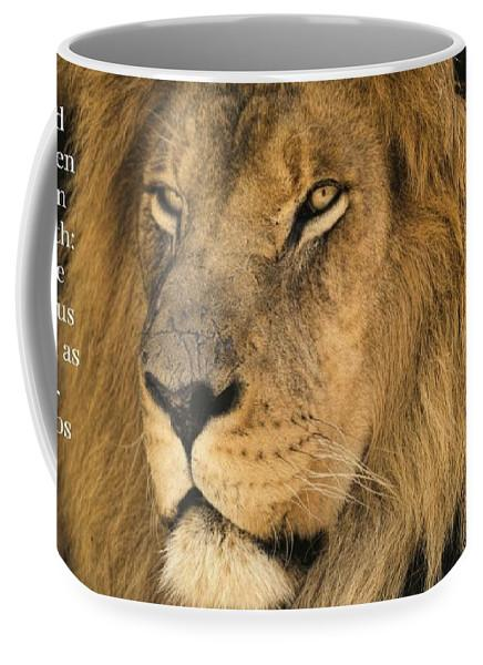 Bold As A Lion - Mug - Love the Lord Inc