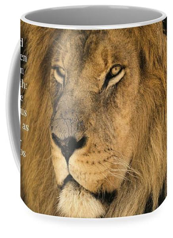 Mug - Bold As A Lion - Mug