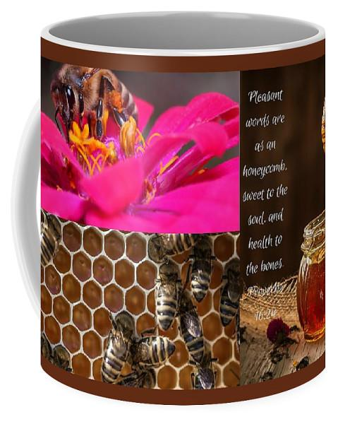 Pleasant Words And Honey - Mug - Love the Lord Inc