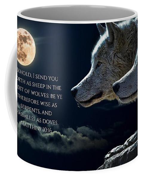 Sheep Amongst Wolves - Mug - Love the Lord Inc
