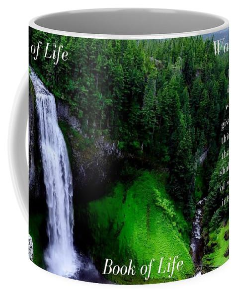 Tree Book Water Of Life - Mug - Love the Lord Inc