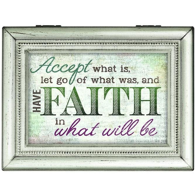 Music Box - Have Faith (Large) - Love the Lord Inc
