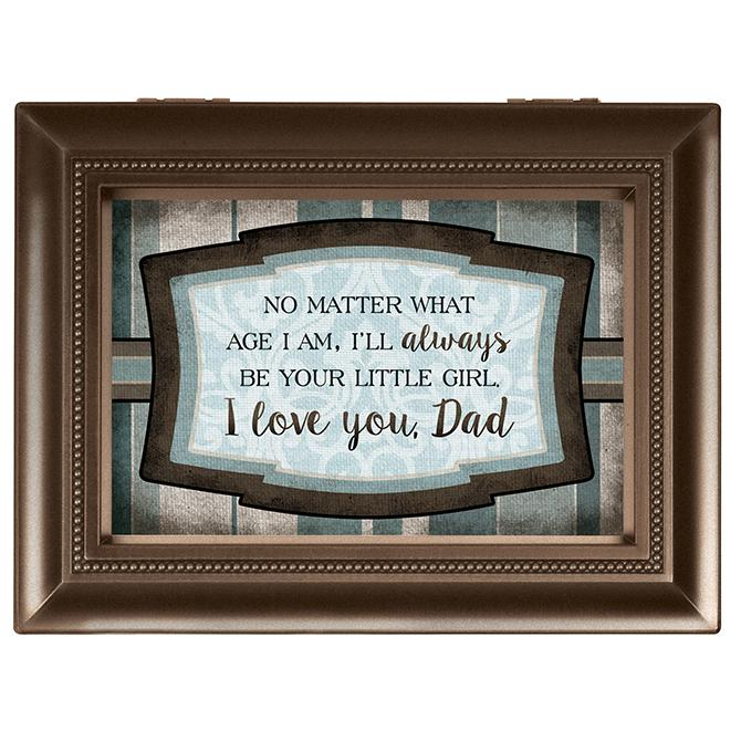 Music Box - I will Always Be Your Little Girl Dad (Large) – Love the ...