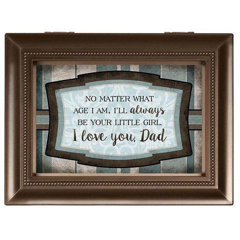Music Box - Music Box - I Will Always Be Your Little Girl Dad (Large)