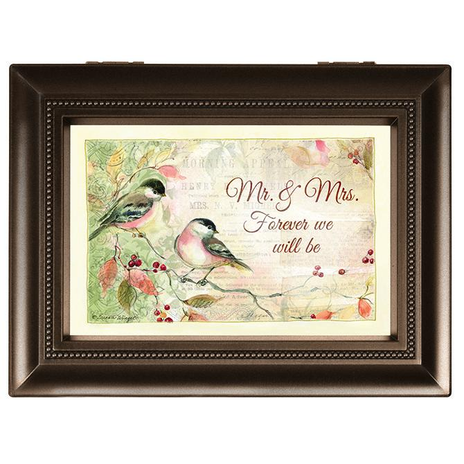 "Music Box - Music Box - ""Mr. & Mrs. Forever We Will Be"" (Large)"
