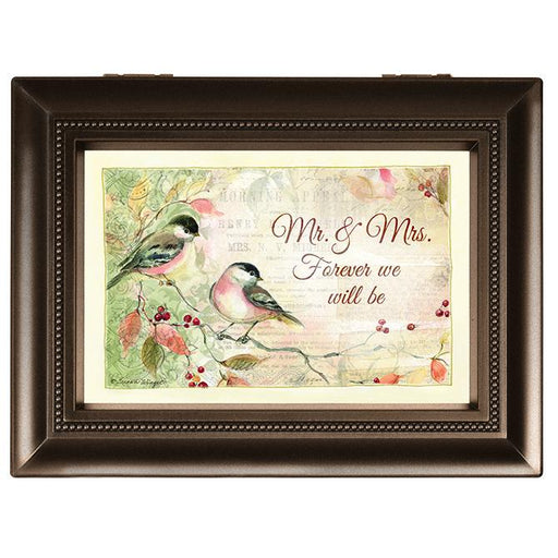 "Music Box - ""Mr. & Mrs. Forever We Will Be"" (Large) - Love the Lord Inc"
