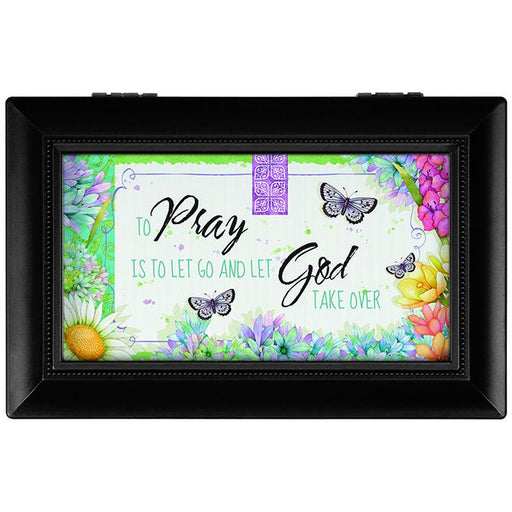 Music Box - To Pray Is To Let Go and Let God Take Over - Love the Lord Inc