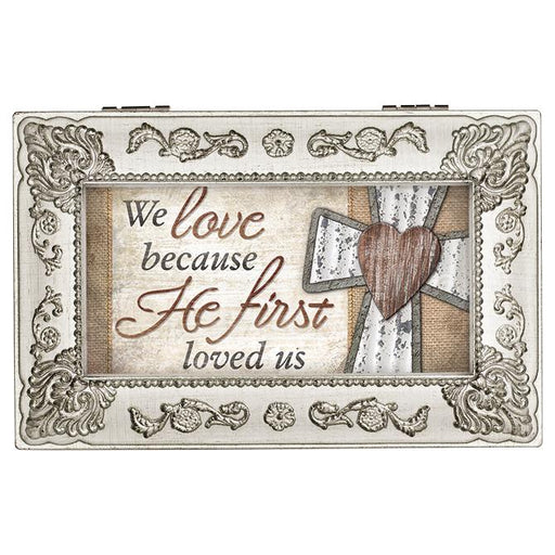 Music Box - We Love, Because He First Loved Us - Love the Lord Inc