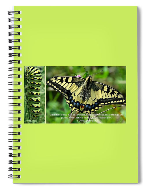 New Creation In Christ - Spiral Notebook - Love the Lord Inc