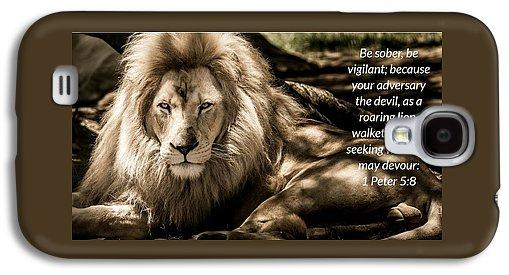 Be Sober Your Adversary - Phone Case - Love the Lord Inc
