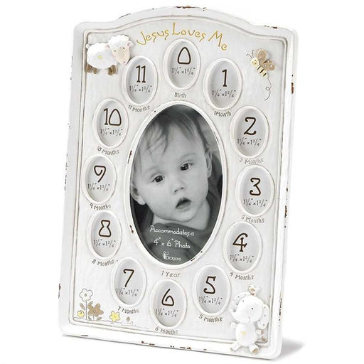 Photo Frame - Jesus Loves Me (Baby Frame) - Love the Lord Inc