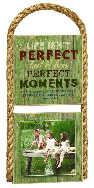 Photo Frame - Life Isn't Perfect - Love the Lord Inc