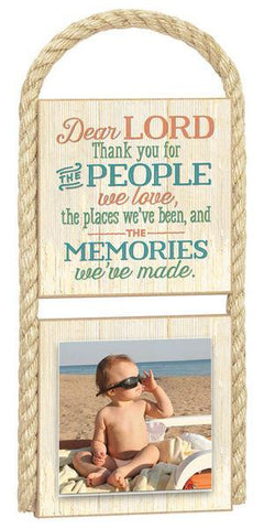 PHOTO FRAMES - Photo Frame - Lord, Thank You For The People, Places And Memories